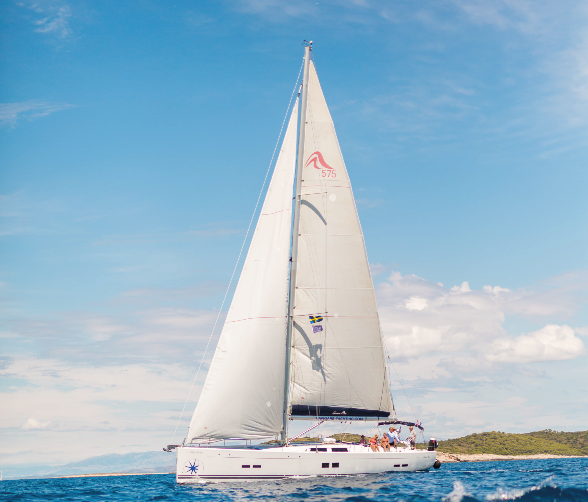 Carefree sailing with Navigare Yachting