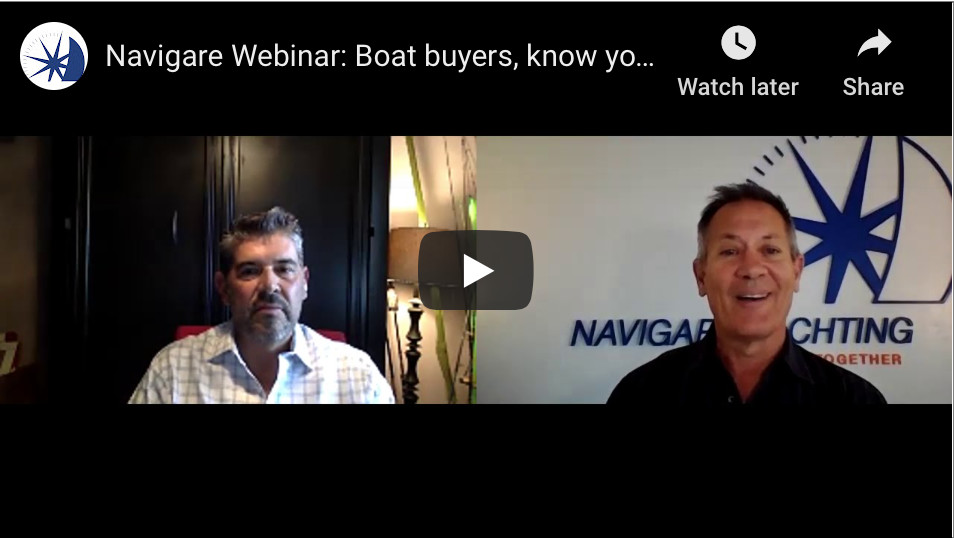 Navigare Webinar: Boat buyers, know your exit strategy!