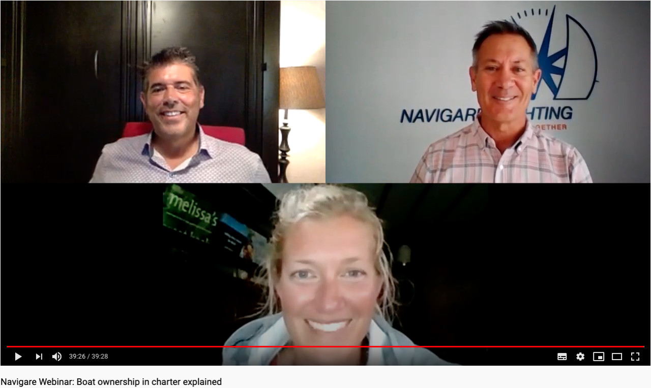 Navigare Webinar: Boat ownership in charter explained