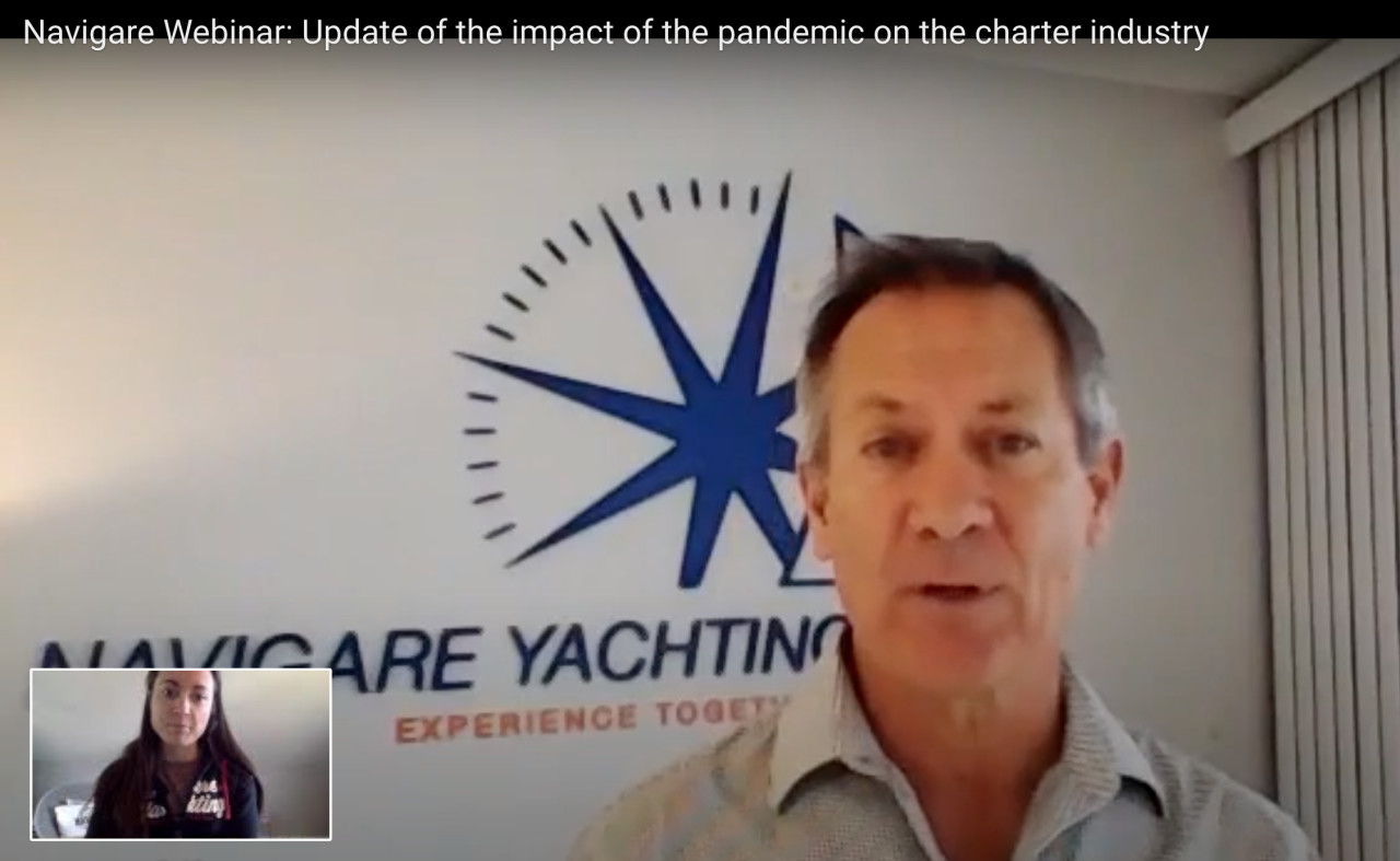 Navigare Webinar: Update on progress of COVID-19 impact on the charter industry