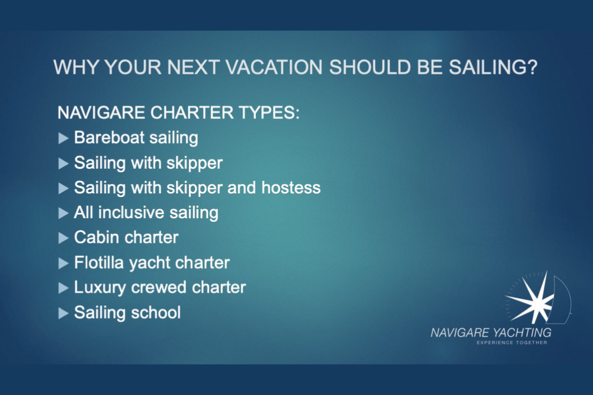 Webinar: Why your next vacation should be sailing with Navigare