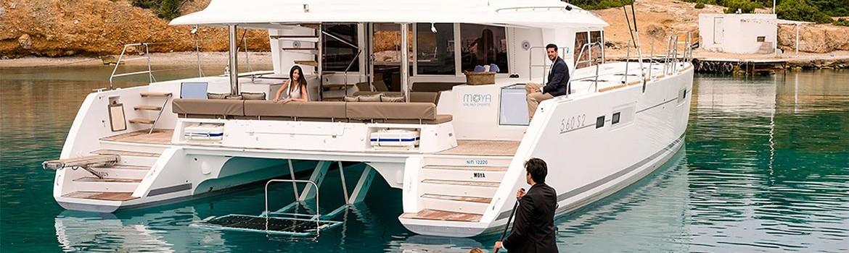 Båtcharter med mannskap på BVI