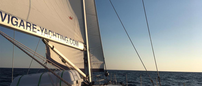 Mediterranean sailing adventure 2019