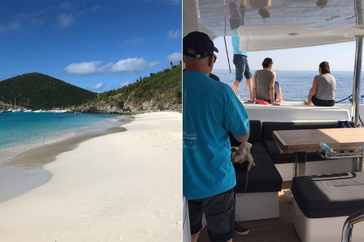 Sailing in the BVI for Christmas & New Year 2018
