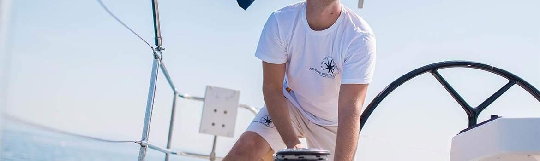 Sailing with a skipper