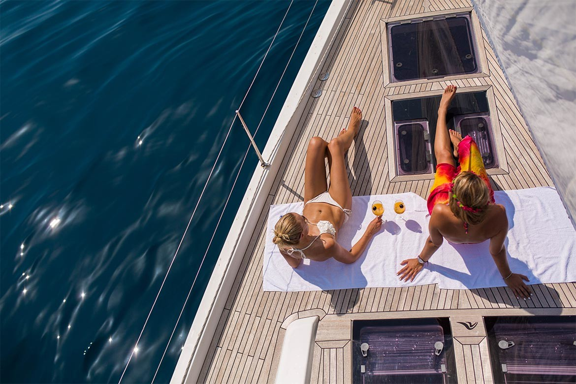 The yacht charter booking process