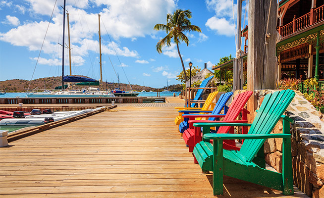 Hyr segelbåt i Karibien