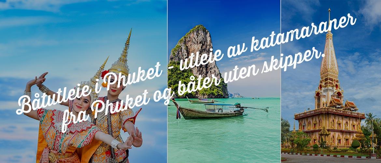 Leie båt i Thailand