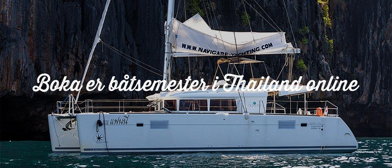 Hyr segelbåt i Thailand