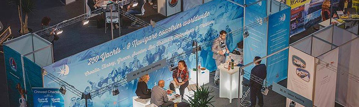 Navigare Yachting on ICE EXPO 2018
