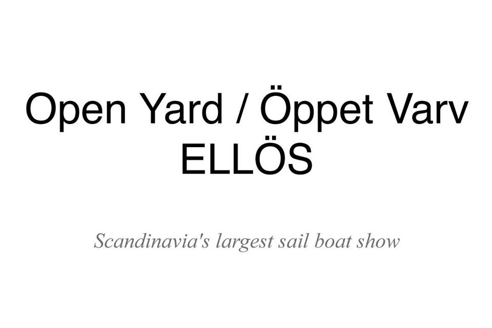 Open Yard Ellös boat show