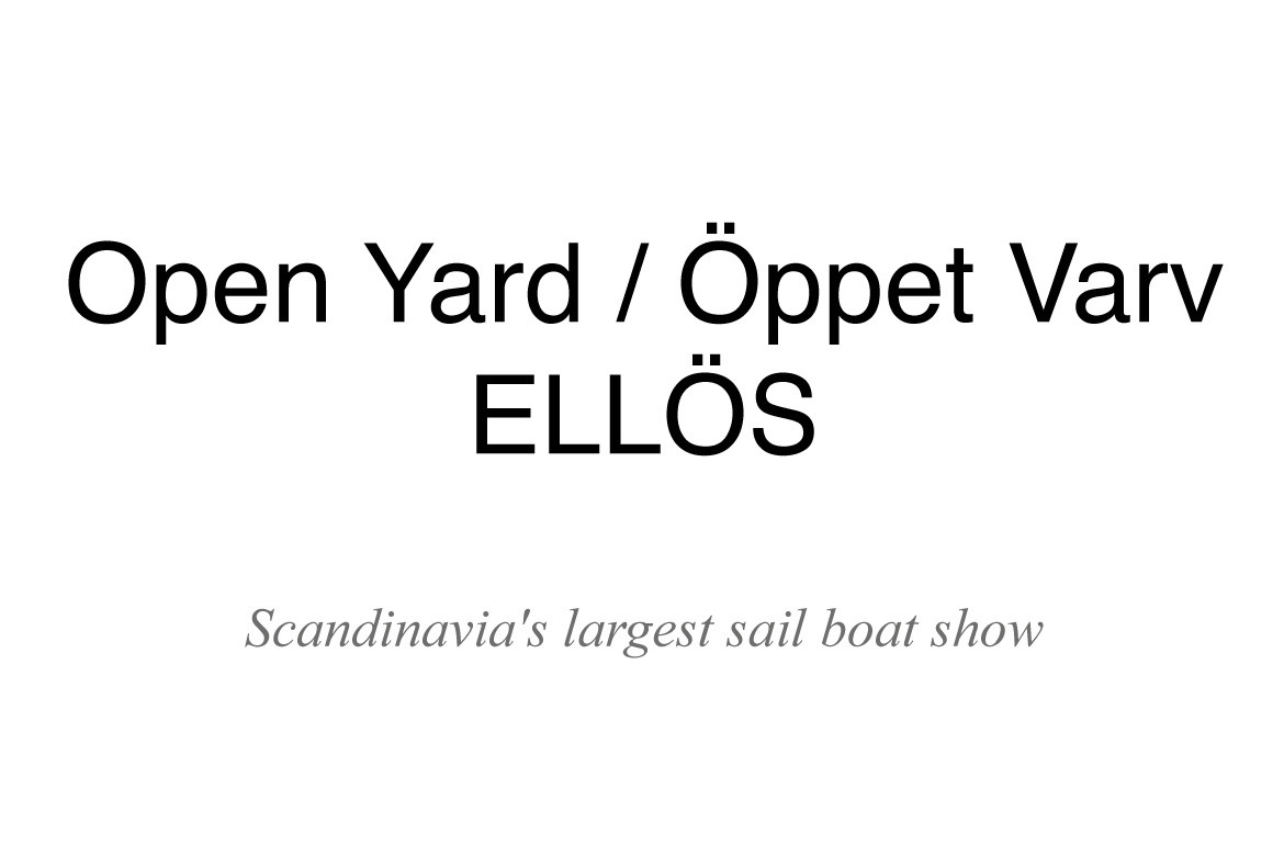 Open Yard Ellös, 23 - 25 AUGUST