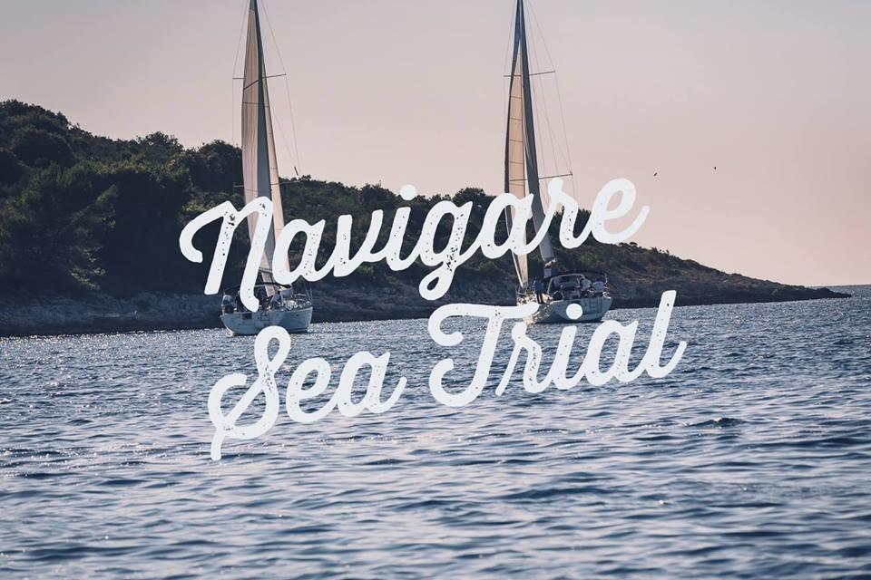 Navigare Sea trial