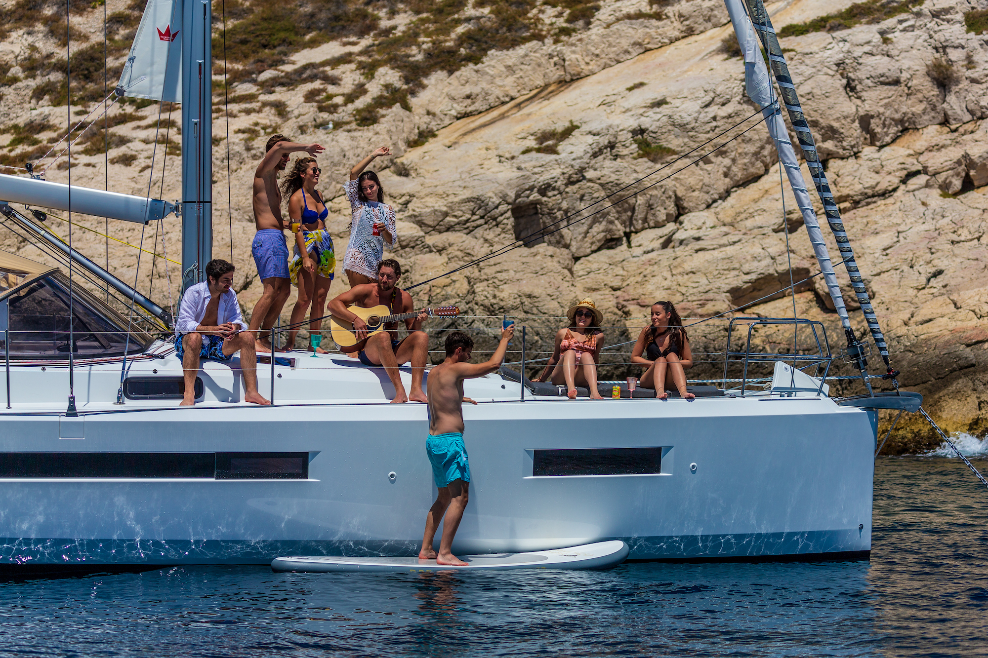 Refer a friend get kredit Navigare Yachting