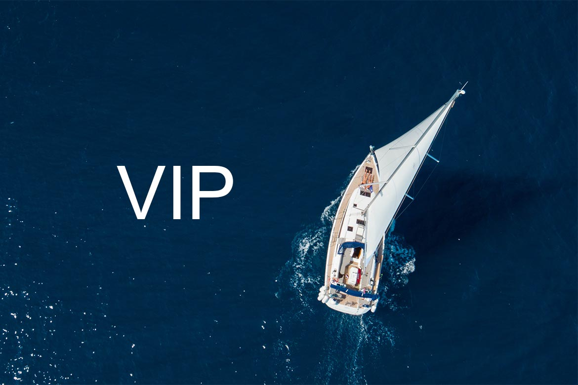 Get the treatment you deserve. You are VIP!