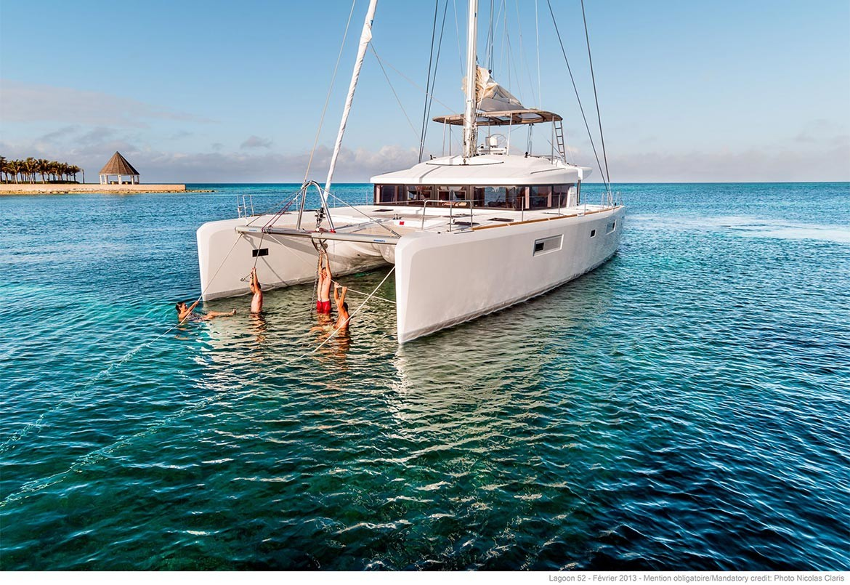 BVI / MED Catamaran Lagoon 52 F   New Yachts   Yacht Sales