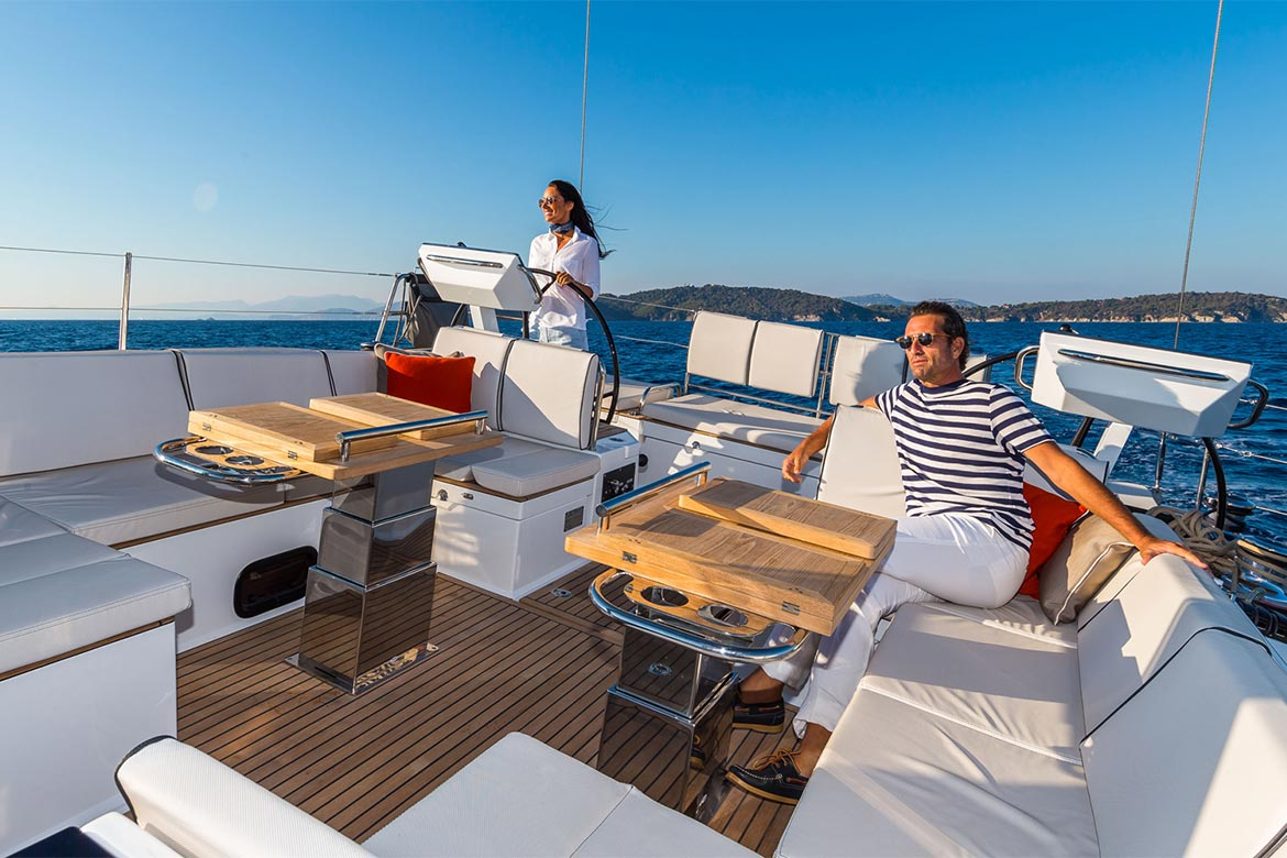 Sail with more comfort aboard our larger yachts