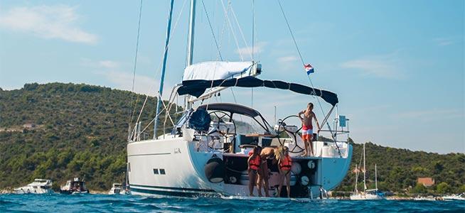Hyra segelbåt utan besättning