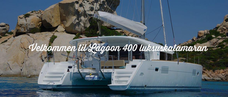 Navigare Yachting Lei en lugar i Hellas Lagoon 400