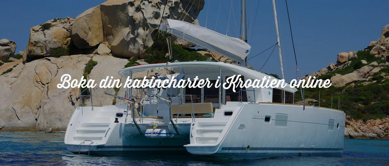 Kabincharter i Kroatien