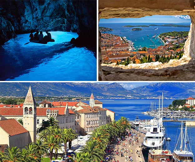 Kabinencharter in Kroatien