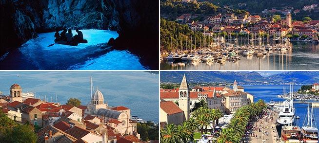 Flotillen Yachtcharter in Kroatien