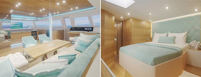 Luxury Yacht Charter - Sunreef 50 - Tiril