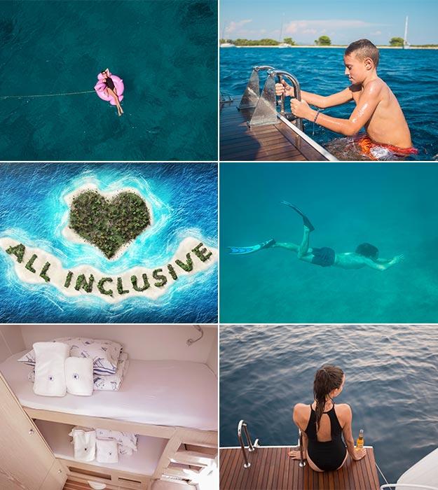 Luxusyacht-Charter mit Crew - BVI  und Kroatien