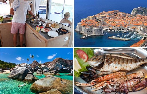 Lei en luksusbåt i Kroatia og BVI
