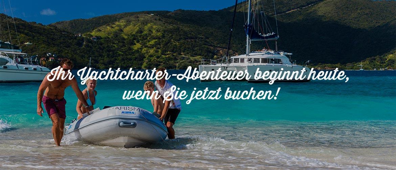 Luxusyacht-Charter mit Crew - BVI und Croatia