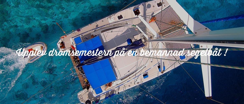 Lyxig seglingssemester med besättning på BVI