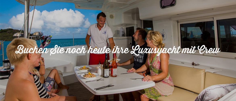 Luxusyacht-Charter mit Crew BVI Croatia