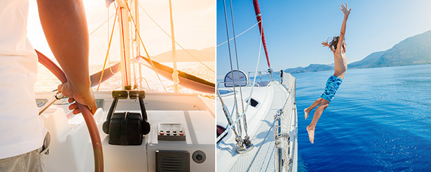 Lyxig seglingssemester med besättning i Kroatien