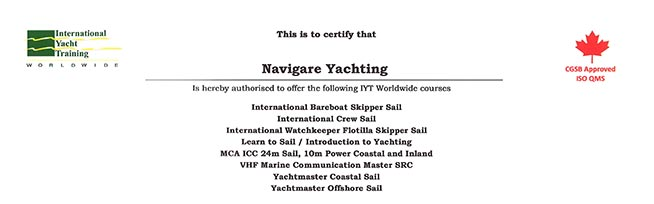 Navigare Yachting Sailing School