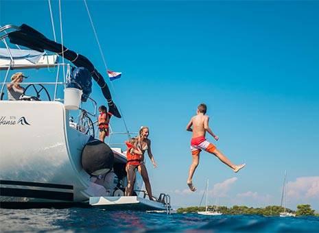 High season Croatia - Monohulls Yacht Charter