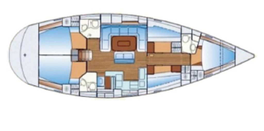 Bavaria 50 Cruiser, Snö