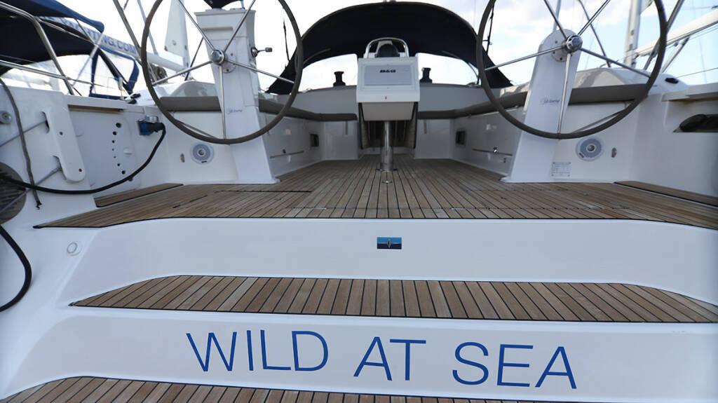 Bavaria Cruiser 51, Wild at sea