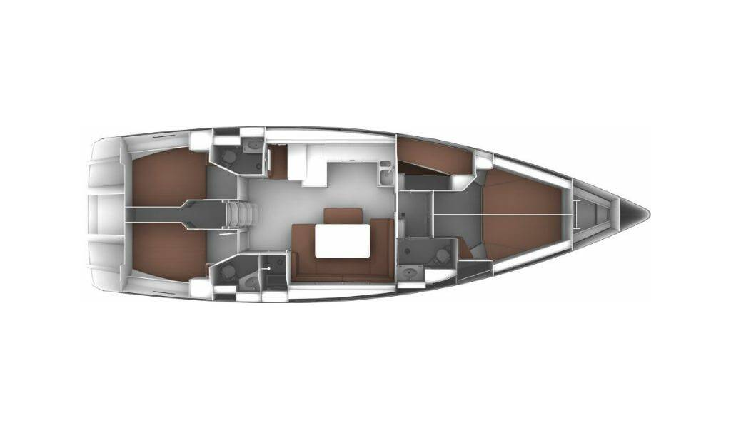 Bavaria Cruiser 51, Korina
