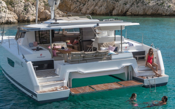 Fountaine Pajot Astrea 42, OUT OF OFFICE (ex. V7385)