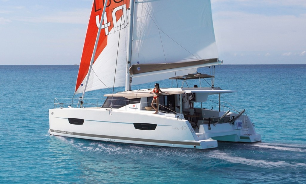 Rent a Boat Fountaine Pajot Lucia 40 in Tortola - Marina
