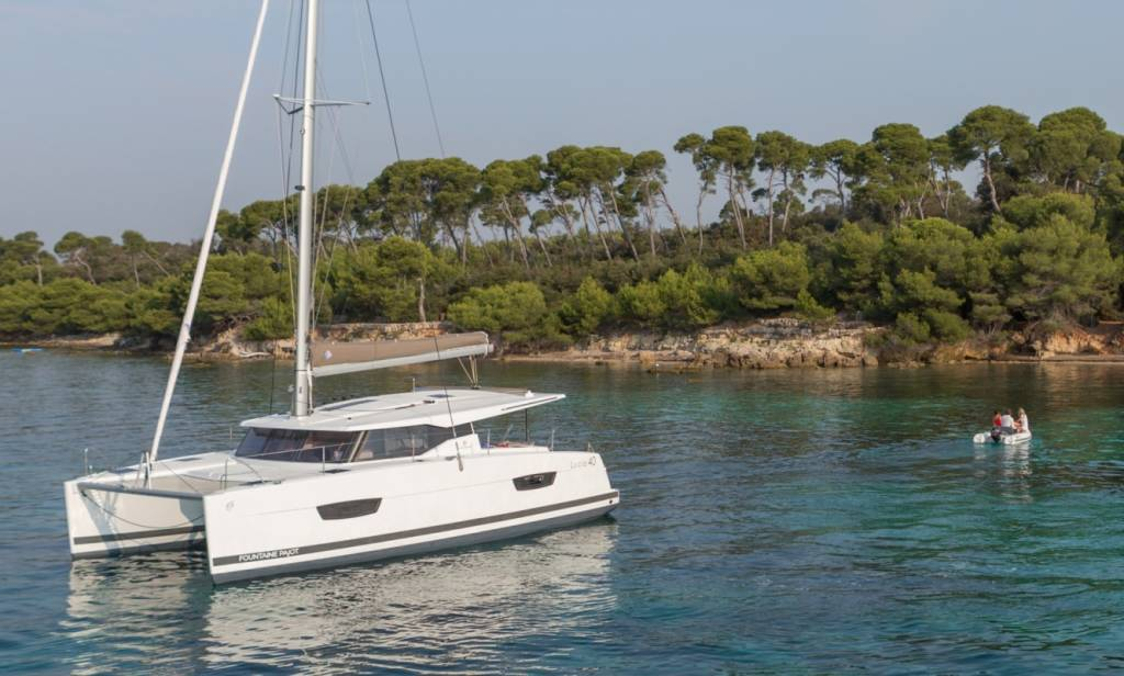 Fountaine Pajot Lucia 40, Whoop-Sea