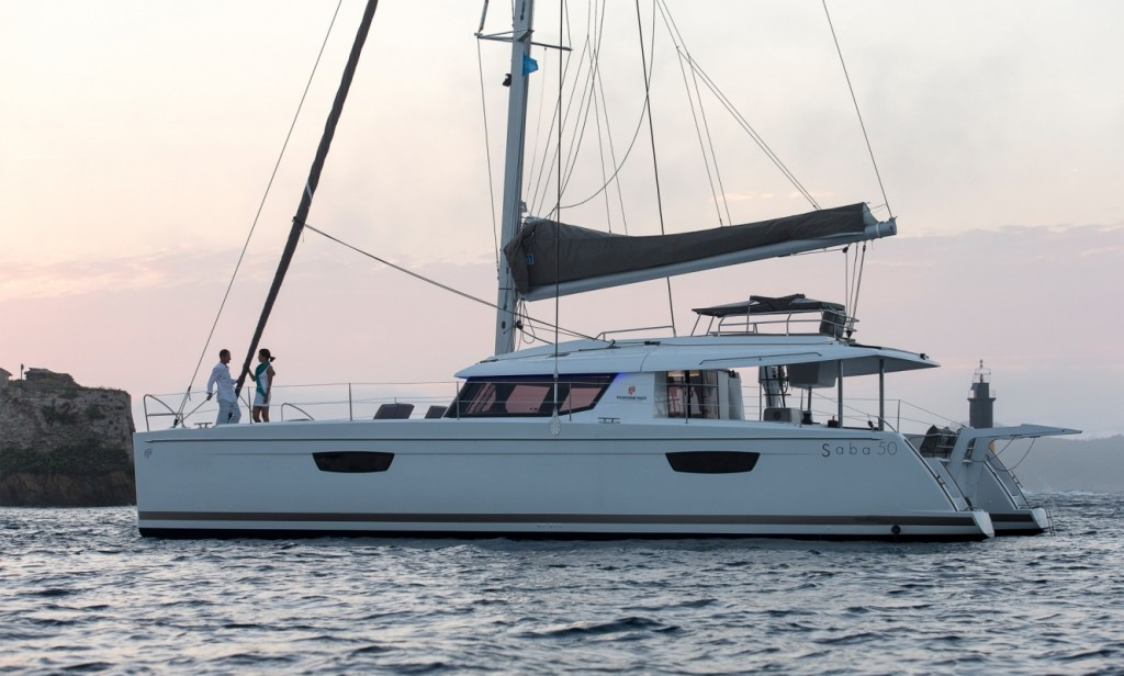 Fountaine Pajot Saba 50, Blue Drop