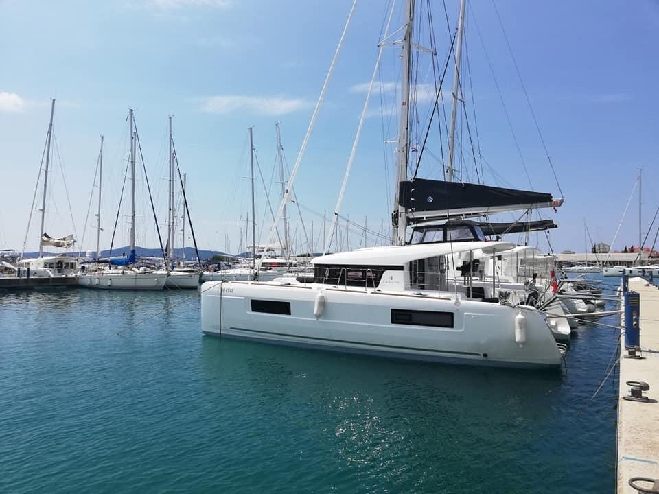 Rent a Boat Lagoon 40 in Tortola - Marina Tortola, British