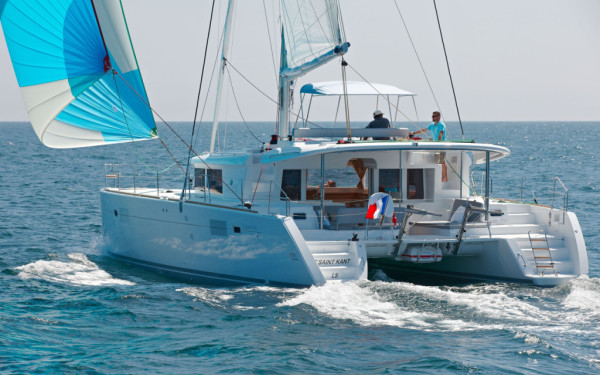 Lagoon 450, Claire Sailing (FRIDAY)