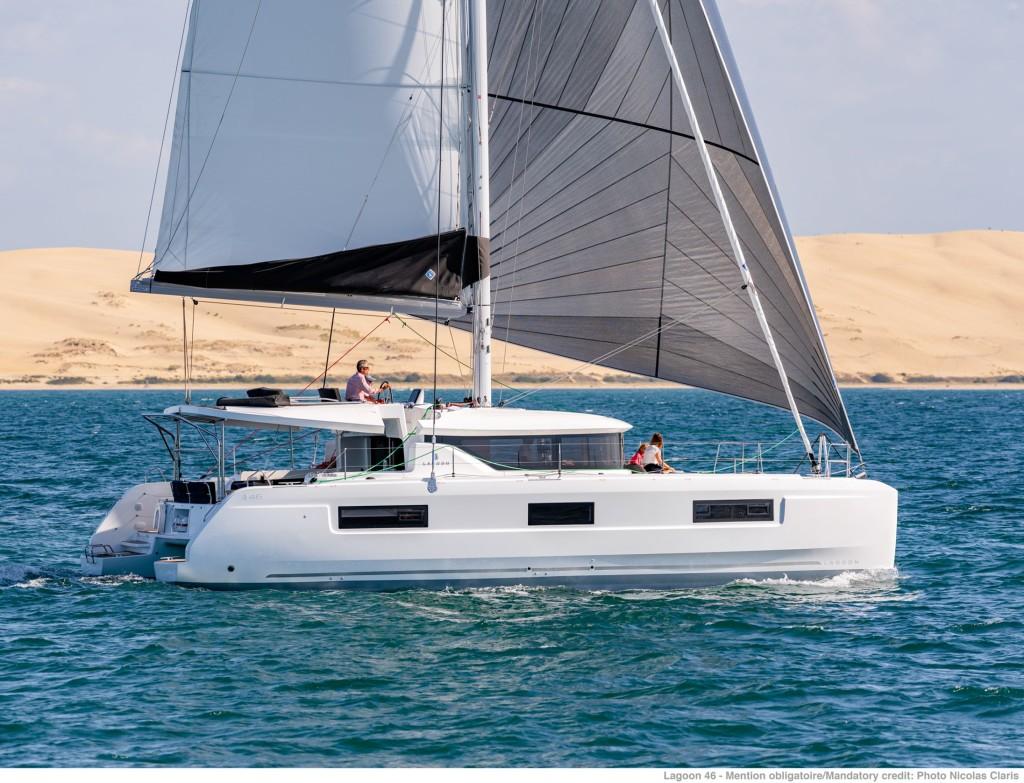 Rent a Boat Lagoon 46 in Tortola - Marina Tortola, British