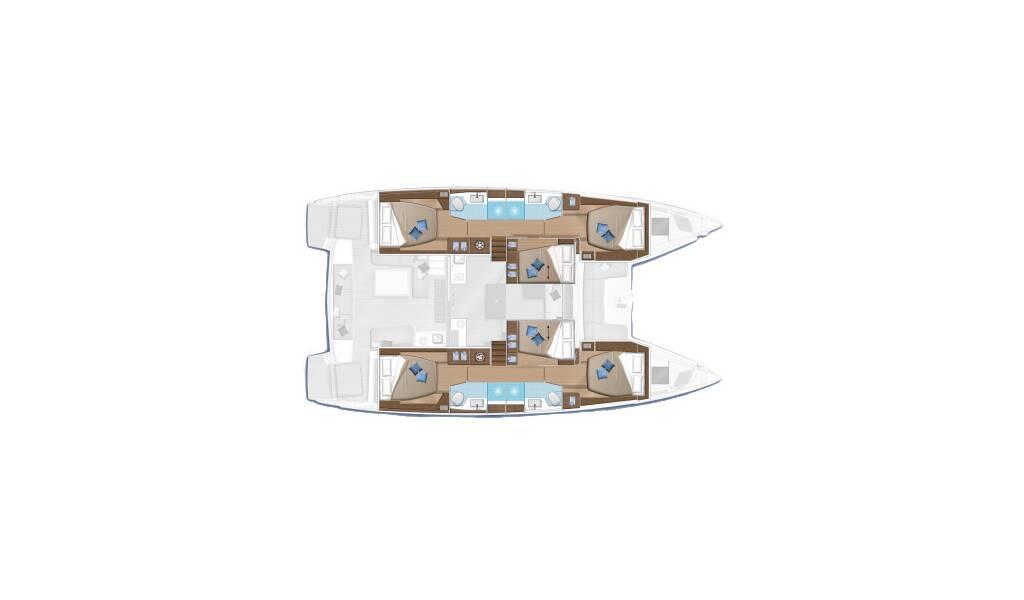 Lagoon 50 Ace of Spades - USVI