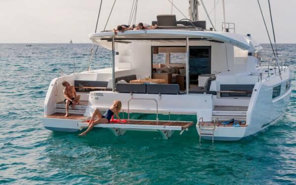 Lagoon 50 Docs Holiday - USVI