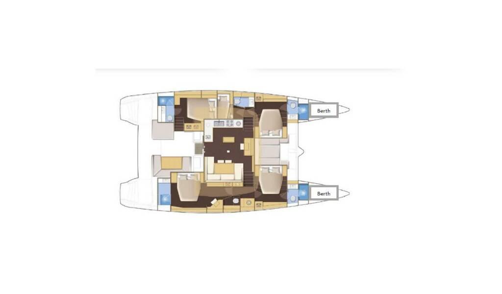 Lagoon 52 F, Jema II SEY - AC|GEN|Watermaker