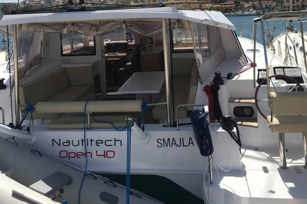 Nautitech 40 Open, Smajla