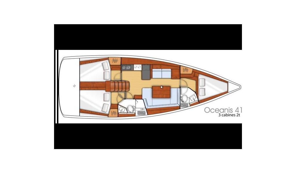 Oceanis 41, Medchapuller